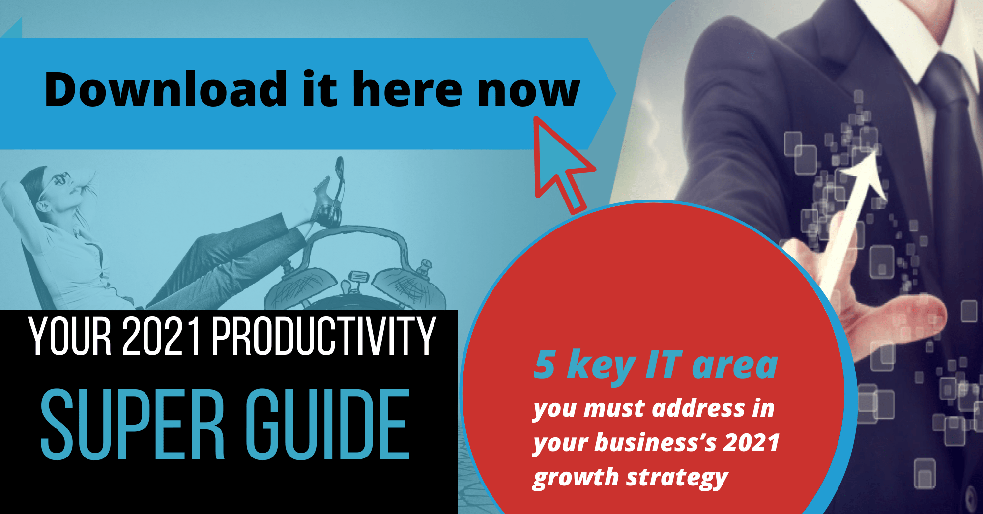 Productivity Guide, IT Support, East Anglia, 5 Key Areas