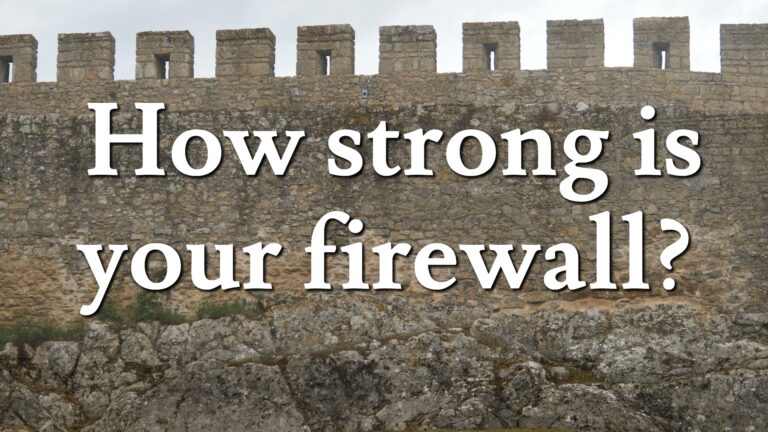 Firewall, Top Tips, Kings IT Support