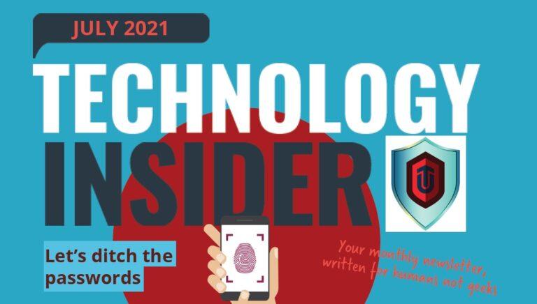 Technology Insider, Uptech Newsletter, Norfolk IT Support
