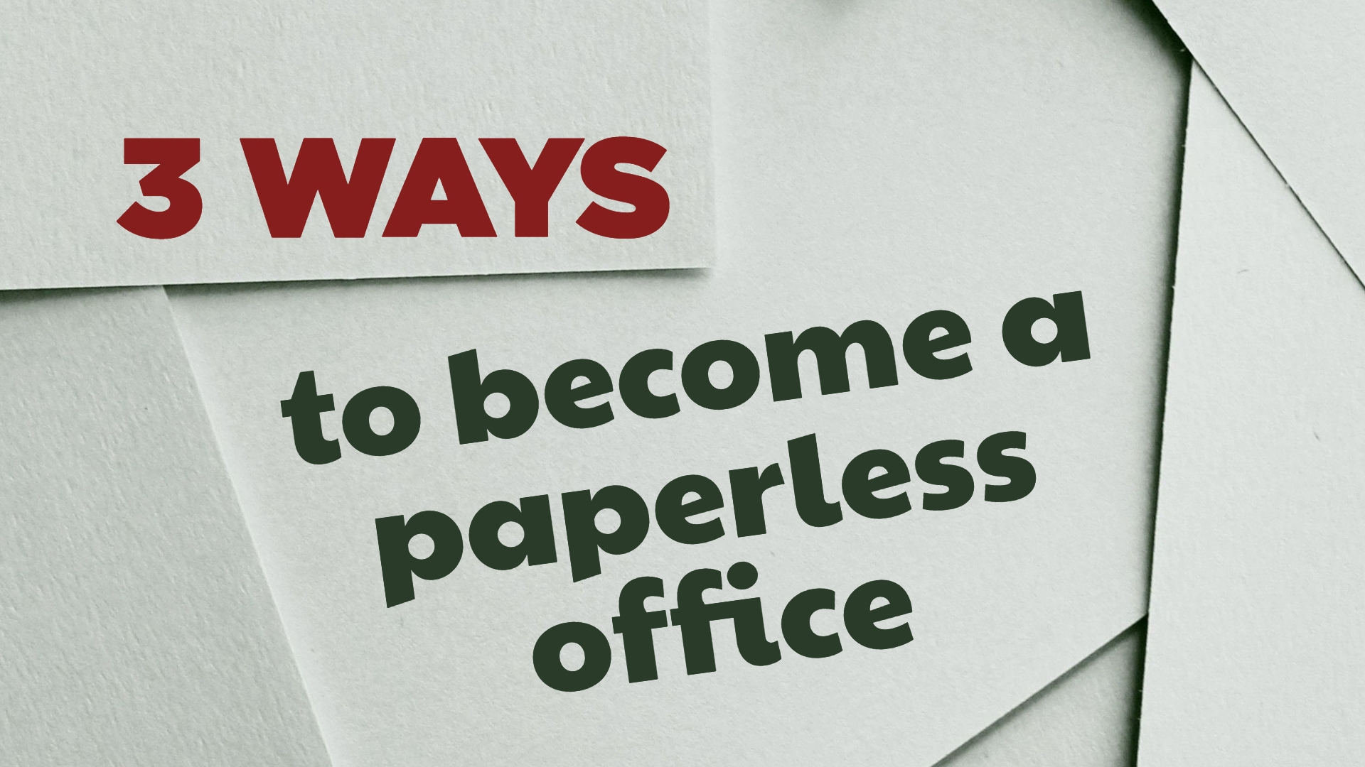 Go Paperless, IT support. Computer services