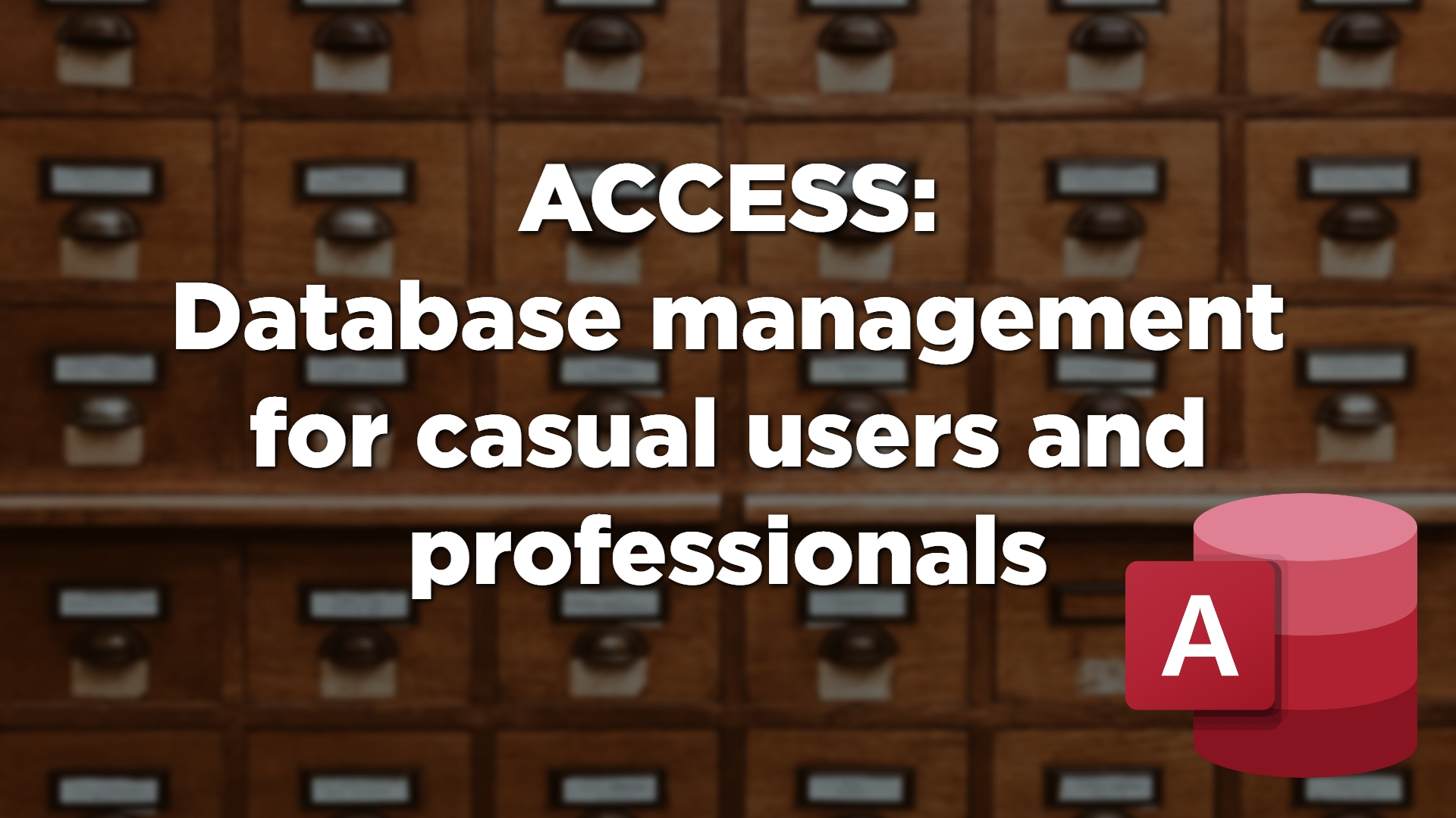 Database, Access, Managed IT Support